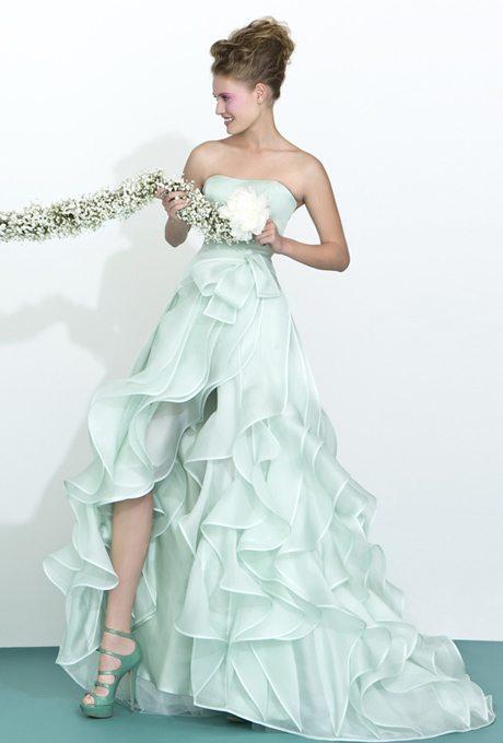 Surprising, Mint Green Wedding Gowns