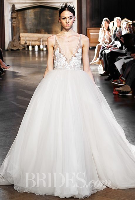Daring V Neck Wedding Gowns For Your Second Time Around