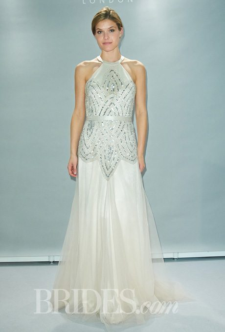 Glamorous, Beaded Gowns For Older Brides