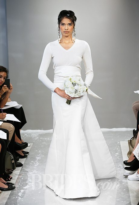 Long-Sleeve Wedding Gowns