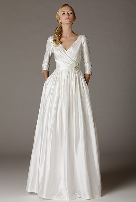 Charming 1950\'s Inspired Wedding Gowns
