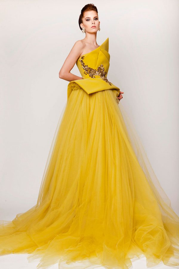 Yellow: Anything But Mellow! Glowing Gowns That Will WOW! | Wedding ...