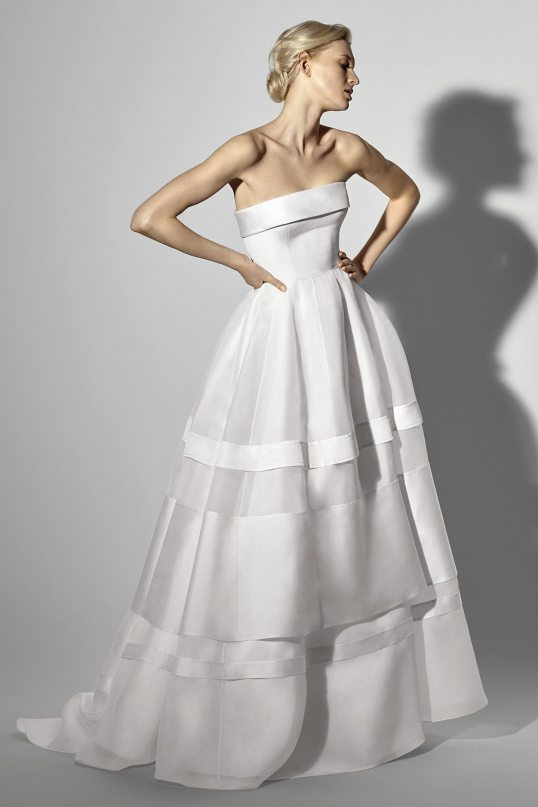 Look 24 Carolina Herrera Wedding Gown