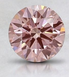 Brilliant Earth .60 ct. Fancy Pink Round-Cut