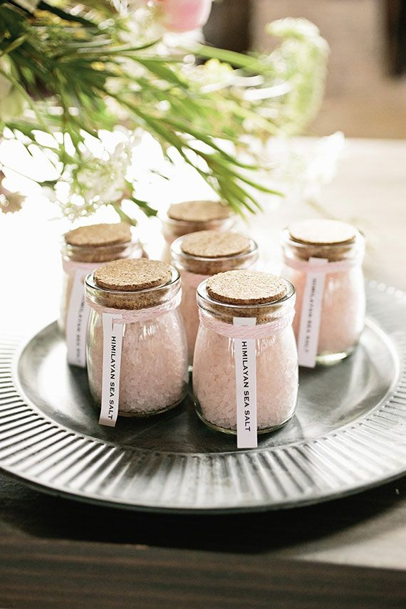himalaya sea salt wedding favors