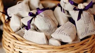 wedding favor potpourri