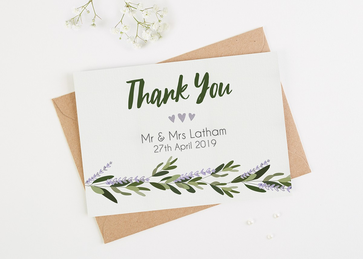 Wedding Thank You Examples.10 Wedding Thank You Card Examples You Ll Love