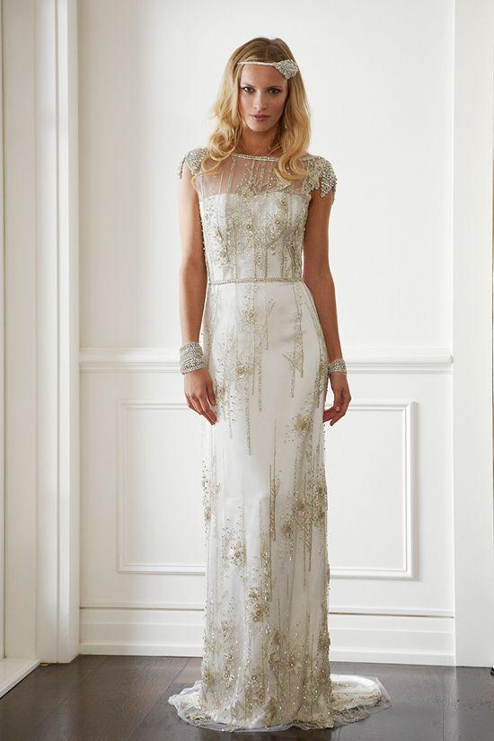 10 Gatsby Style Wedding Gowns To Theme Your Wedding Around   Wedding ...