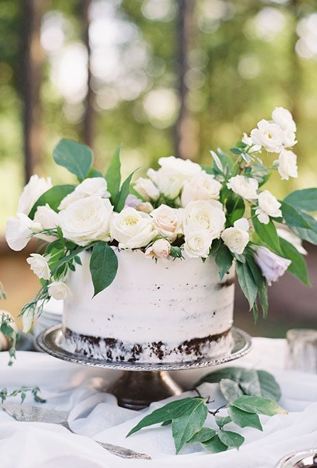 One-Tier Wedding Cakes