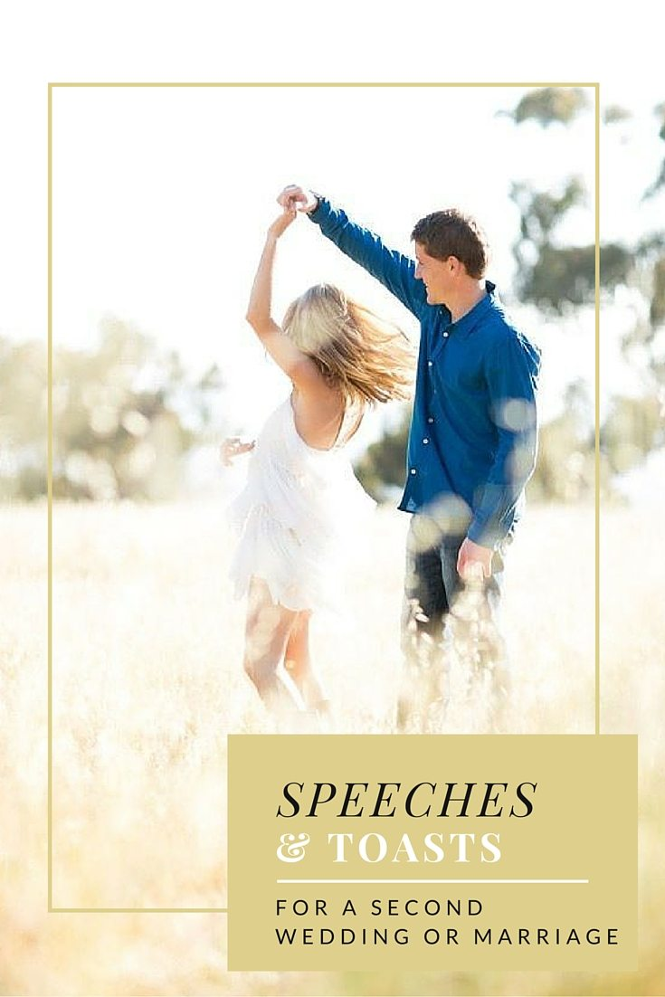 speeches for second weddings