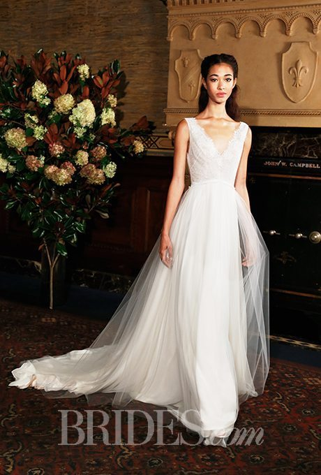 Free flowing fall bridal gowns for your vow renewal part 2 for Vintage wedding dresses austin