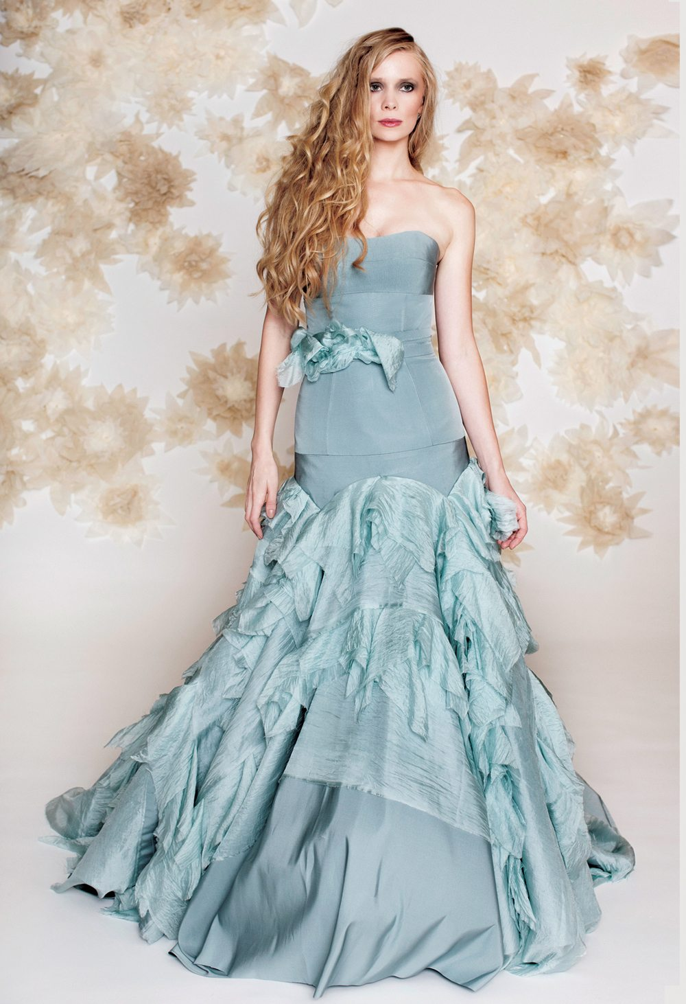 More Blue Wedding Gowns That Will Have You Re-thinking Traditional ...