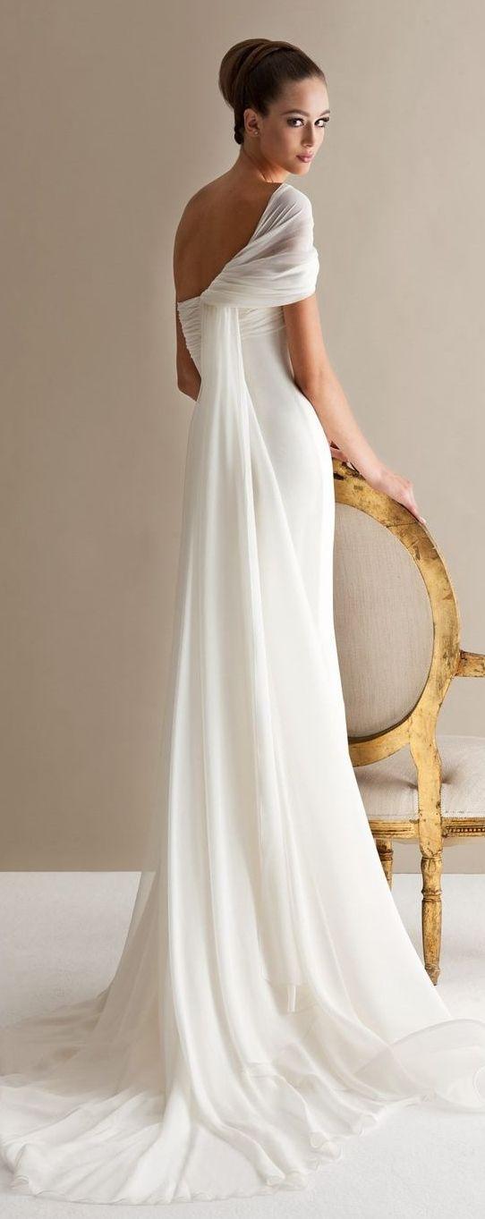 10 More Gorgeous, Grecian Inspired Wedding Gowns | Wedding Attire ...