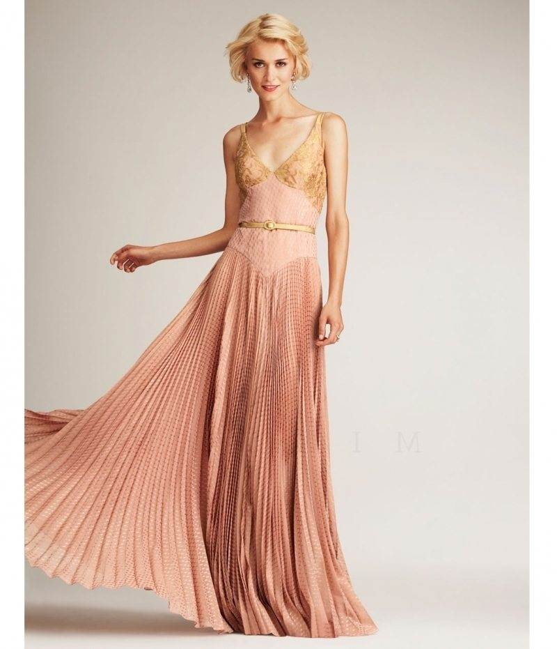 10 Rose Gold Gowns To Renew Your Vows In