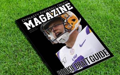 2020 Combo IDP and Dynasty Football Digest Magazine (Available) Rookie Magazines (Print Mailers)