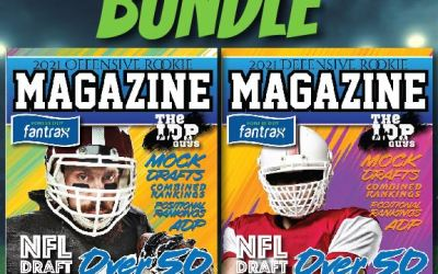 2021 (Available Now) Digital Offense & IDP Bundle Issues of IDP Guys Rookie Draft Magazine
