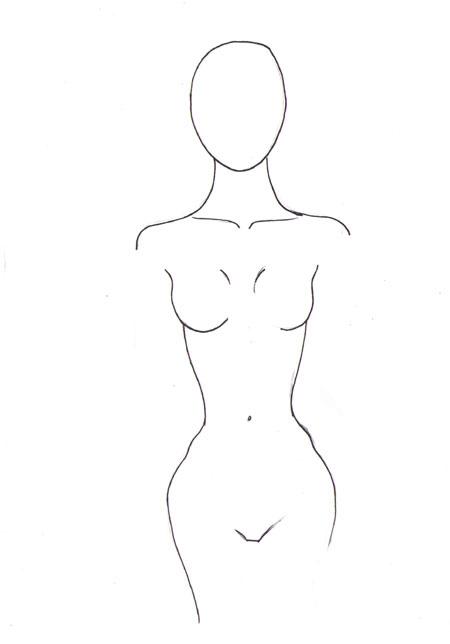 draw female body