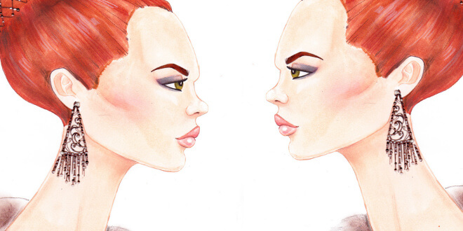 how to draw a profile face step by step tutorial cover