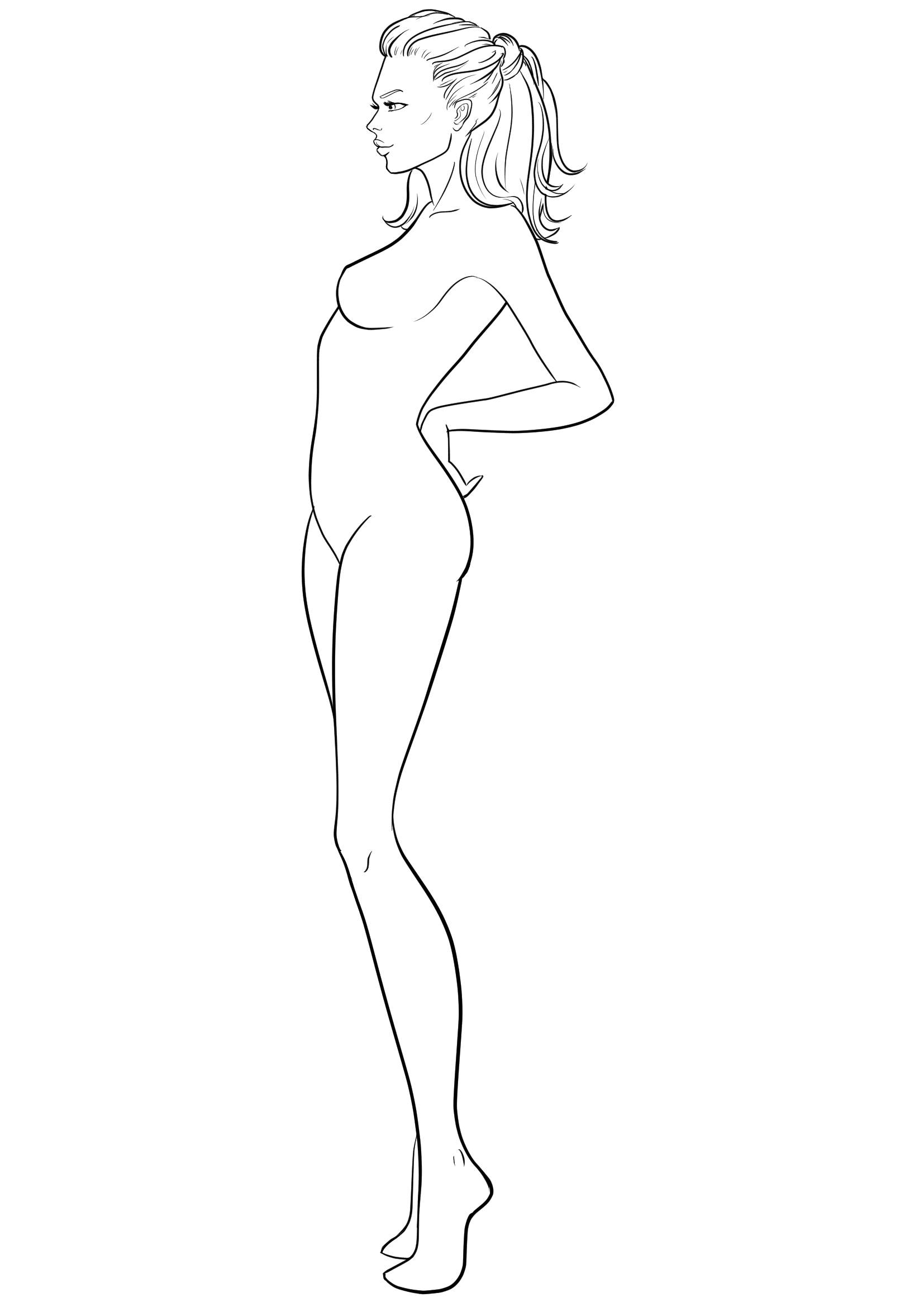 Download Free Fashion Croqui For Designers I Draw Fashion