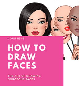 HOW-TO-DRAW-FACES online fashion designing course