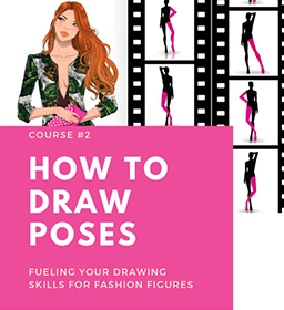 HOW TO DRAW POSES online fashion designing course