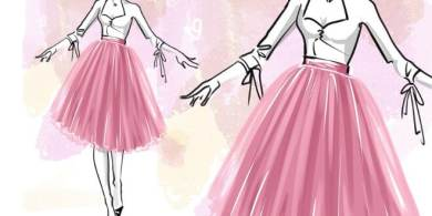 Photo of How to draw a tutu skirt