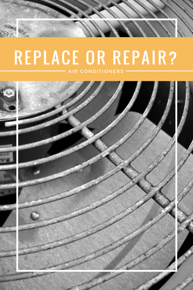 When a costly air conditioner repair comes up, should you fix the old one or buy a new one?