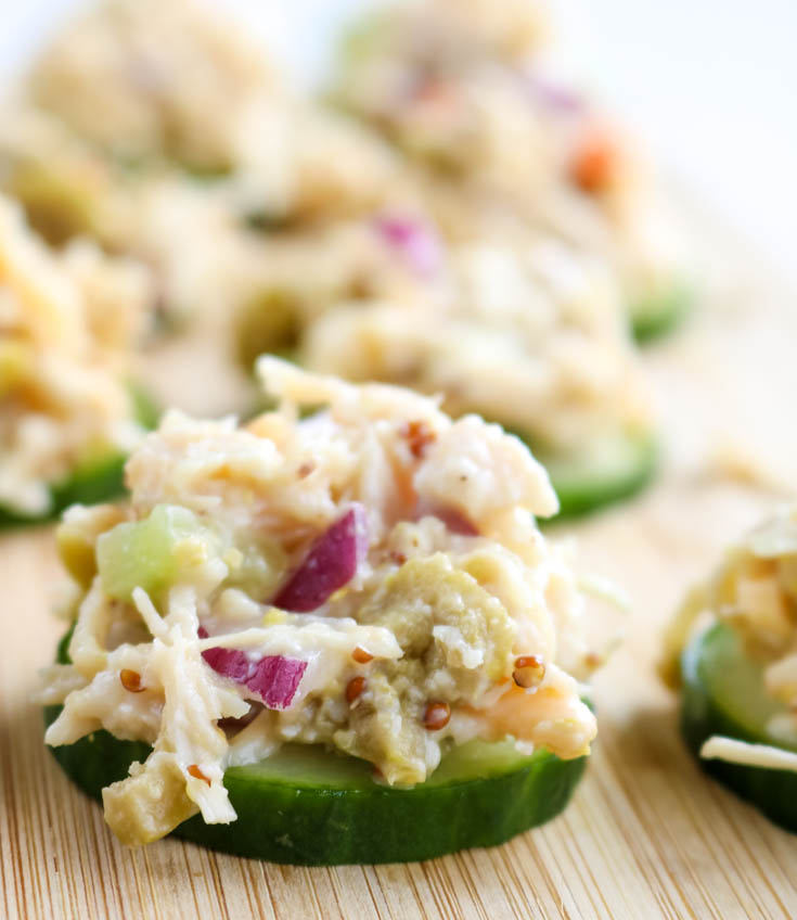 Low carb light healthy chicken salad recipe i dream of food chicken salad guilt free low carb low fat high protein forumfinder Images