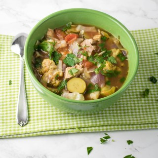 Simple Low Carb Turkey Vegetable Soup Easy