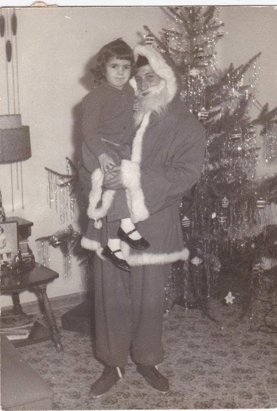 blog jeanne and santa age 4