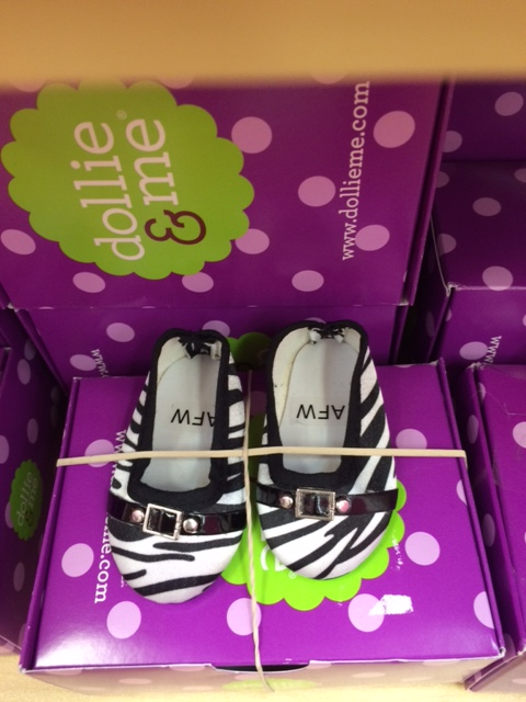 blog dollie and me zebra slipons