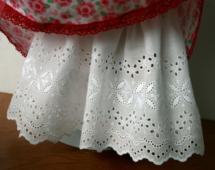jeannie B's birthday dress for Molly eyelet