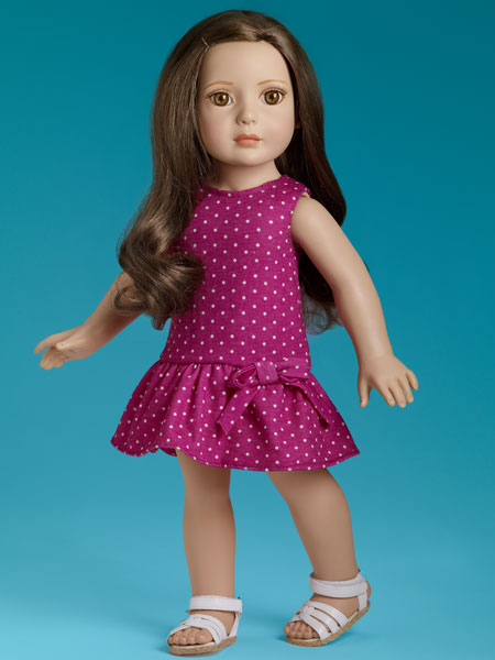 Blog Brunette Tonner starter doll