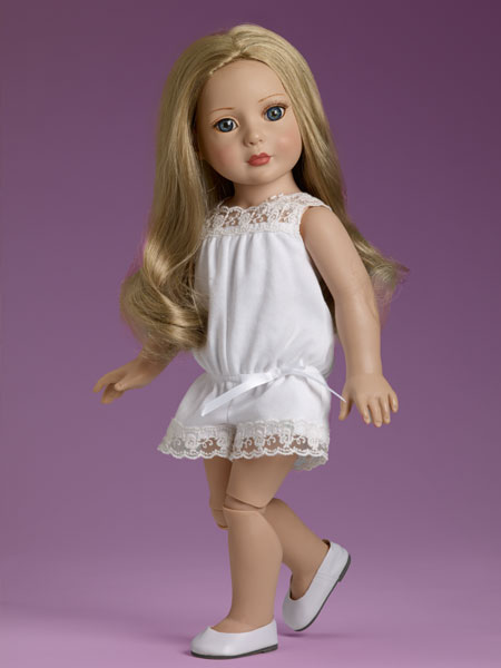 Blog bendy legs blonde doll