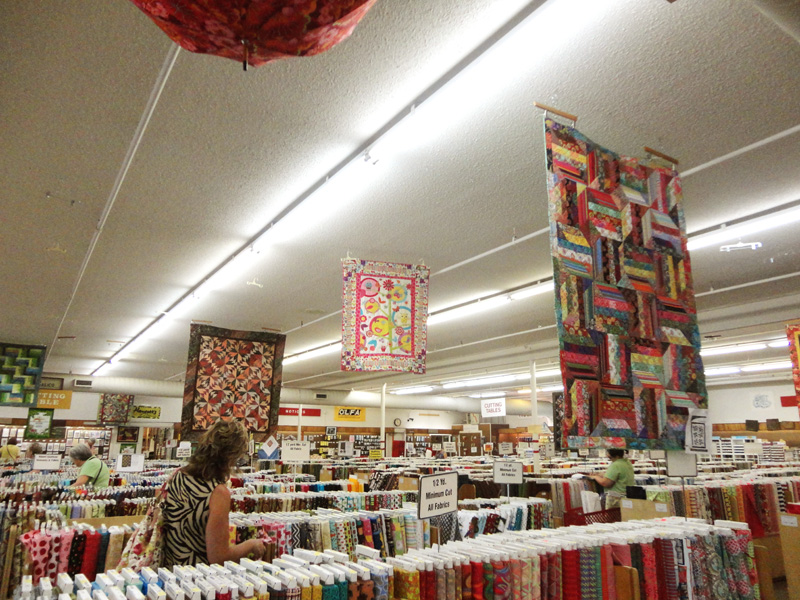 blog hancocks with hanging quilts