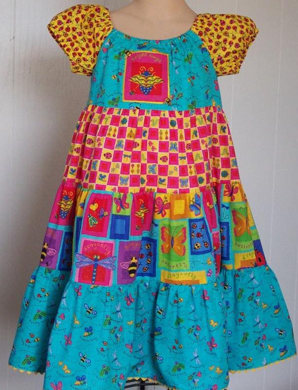 lady bug dress full 4