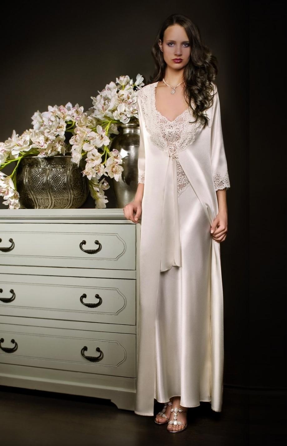 Meilleur Blog Robe Robe De Chambre Longue Satin Femme