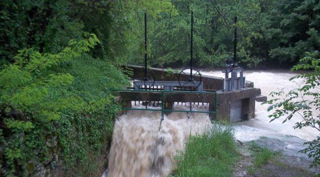 Sistemi di paratoie per prelievo acqua di torrente