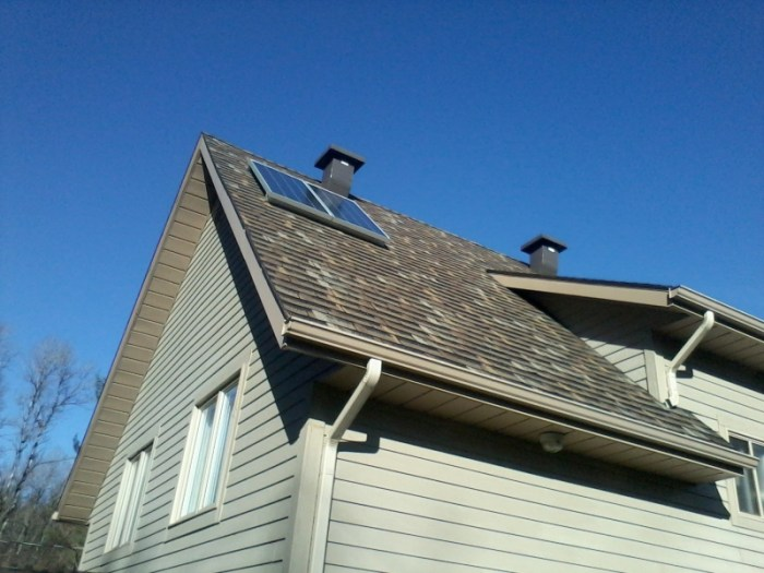 Maison Melatti - 2 panneaux solaires de 150w