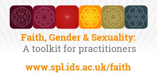 Faith, gender and sexuality Toolkit graphic