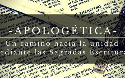 Apologética: un camino hacia la unidad