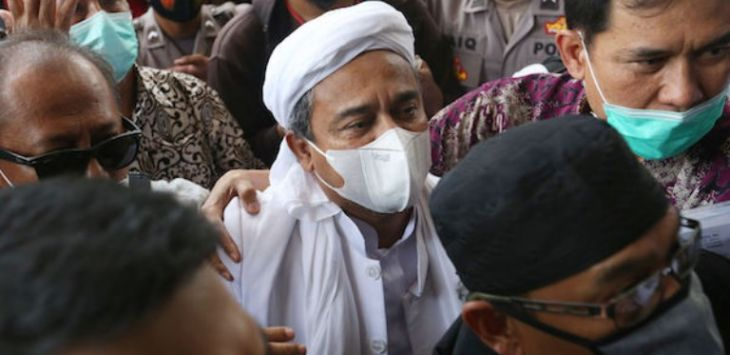 Habib Rizieq Dituntut 6 Tahun, Novel: Pesanan Politik Untuk Kepentingan Pilpres 2024