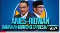 Terjun di Konvensi Capres Nasdem Bareng Ridwan Kamil, Anies Disebut Akan Estafet