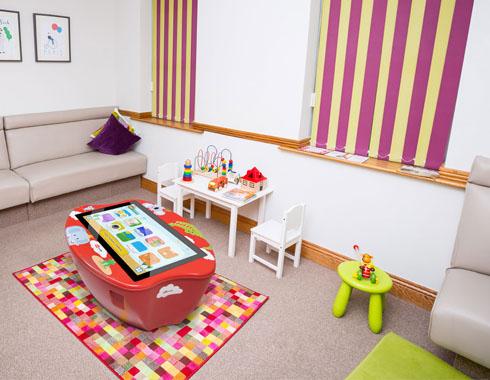 Aulas Digitales - Ejemplo instalación Multiclass Kids Table