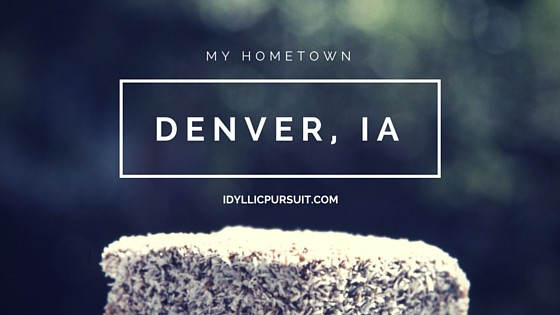 A Spotlight on Denver, Iowa