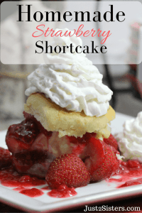 Homemade Strawberry Shortcake and other strawberry recipes at www.idyllicpursuit.com
