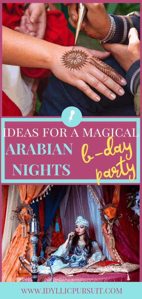 Ideas for a Magical Arabian Nights Birthday Party