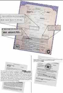 Evan J Dudley's Coroner Report