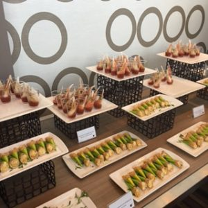 Hors d'oeuvres at BlogHer16