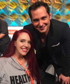 Kathy Haan with Matt McGorry